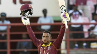 Hetmyer's ton help host level series