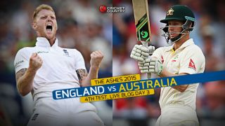 Live Cricket Score England vs Australia, The Ashes 2015, 4th Test at Trent Bridge, Day 3, AUS 253: England win by innings and 78 runs; regain Ashes with 3-1 series lead