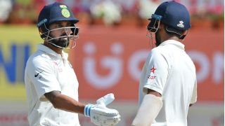 India vs Australia 3rd Test: Murali Vijay falls after sturdy stand; hosts trail by 258 at lunch, Day 3