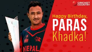 Paras Khadka: Story of Nepal cricket's poster-boy compiled in 20 points
