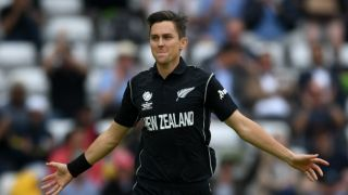 Trent Boult becomes 2nd fastest New Zealand bowler to complete 100 ODI wickets