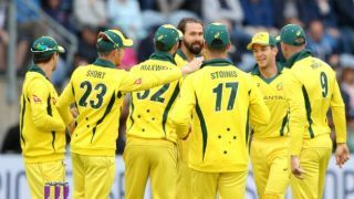 AUS slip to 6th position in ICC ODI ranking after 34 years