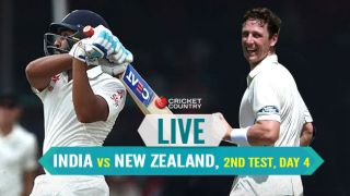 Live Cricket score in Hindi: India vs New Zealand 2nd Test 2016 day-4