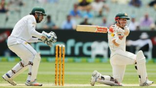 David Warner leads Australia's reply against Pakistan; hosts trail by 312 at tea, Day 3