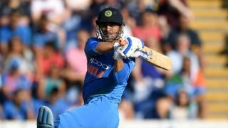 Dhoni becomes 4th Indian to 10,000 runs