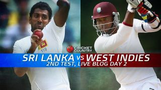 SL 76/2, lead by 113 │ Live Cricket Score Sri Lanka vs West Indies 2015, 2nd Test at Colombo (PSS), Day 2: Hosts in firm control