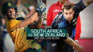 NZ 221 in 46 overs, target 284 │ Live Cricket Score South Africa vs New Zealand 2015, 3rd ODI at Durban: Hosts win by 62 runs; clinch series 2-1