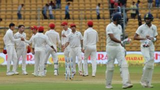 In Pictures: IND vs AFG, Day 1