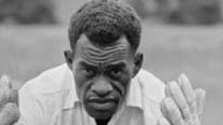 The Fijian who fielded in a skirt & featured on a stamp before Bradman and Richards