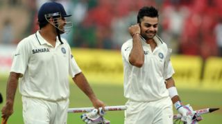 Difference between Virat Kohli and MS Dhoni's captaincy in Tests