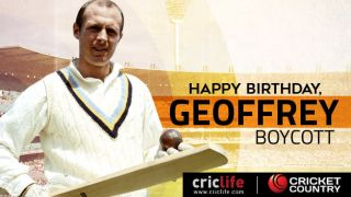 Geoffrey Boycott: 17 facts about one of England's greatest players