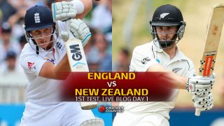 Live Cricket Score England vs New Zealand 2015, 1st Test at Lord's, Day 1, ENG 354/7 in 90 overs: Jos Buttler dismissed off the last ball of Day 1