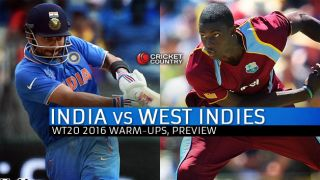 ICC T20 World Cup 2016, India vs West Indies Preview: India begin campaign with first warm-up