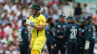Finch takes 'full responsibility' of not taking AUS's score to 330-340 against ENG