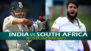 SA 109 (Target: 218)   Live Cricket Score, India vs South Africa 2015, 1st Test at Mohali, Day 3: India win by 108 runs