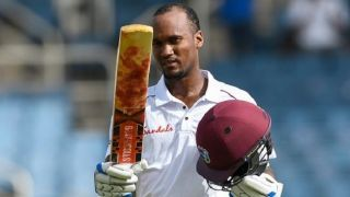 West Indies 295 for 4 at stumps, Day One