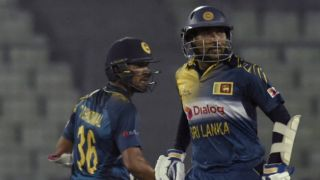 Tillakaratne Dilshan, Dinesh Chandimal take Sri Lanka to 150 for 4 against Pakistan in Asia Cup T20 2016 Match 10 at Mirpur
