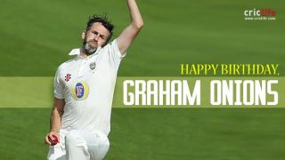 Graham Onions: 10 interesting facts about one of England's most promising bowlers