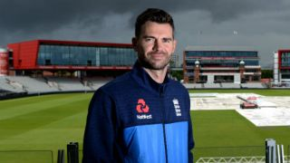 Old Trafford's Pavilion End renamed as 'The James Anderson End'