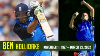 Hollioake: 10 facts you should know about former England all-rounder