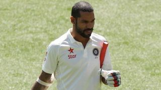 Twitterverse concerned about Shikhar Dhawan after he flunks twice in two innings