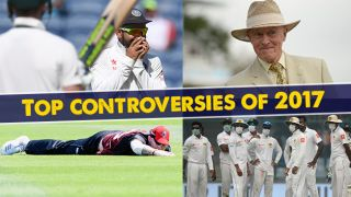 """Black my face"", beer-pouring, brain fade, Ben Stokes, Delhi smog, other controversies of 2017"