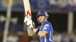 Smith steps down as RR captain; Rahane replaces him