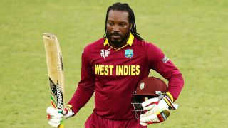 Fan impressed by Chris Gayle swims river to retrieve ball