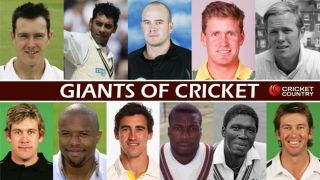 Head and Shoulders above the rest: The Giants of Cricket
