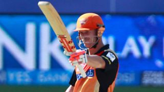 Warner's 61 lifts Hyderabad to 155/6 against Bangalore