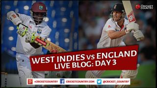 Live Cricket Score West Indies vs England 2015, 2nd Test at Grenada Day 3,ENG 373/6 in 124 overs: England lead by 74 runs
