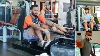 Kohli, Karthik along with others train ahead of IRE T20I series