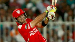 Maxwell leads KXIP to 193/6 against SRH