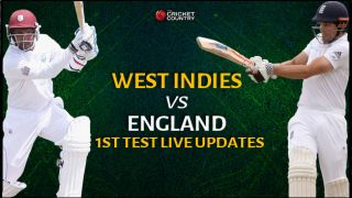 Live Cricket Score West Indies vs England, 1st Test: ENG 341/5 in 90 overs: Ian Bell gets out, England finish strongly