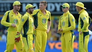 Australia cricketers observe a minute of silence for Manchester victims