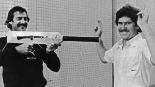 Dennis Lillee and aluminium bat: The second rejection