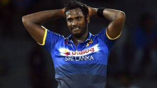 Angelo Mathews rules out himself from bowling during ODI Series against South Africa