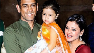 Video: MS Dhoni-Sakshi attends Poorna Patel's wedding; Ziva shows adorable dancing moves