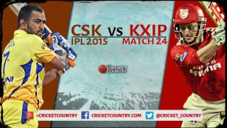 Live Cricket Score, CSK vs KXIP, IPL 2015, KXIP 94/8 in 19 overs: KXIP need 99 off the final over