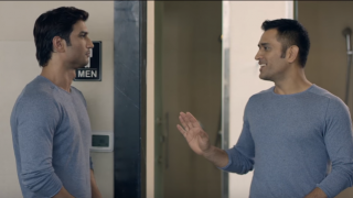 Watch Sushant Singh Rajput following MS Dhoni's footsteps to 'washroom'