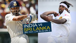 IND 292/8 | Live Cricket Score, India vs Sri Lanka 2015, 3rd Test in Colombo, Day 2, STUMPS: Rain forces closure of play after India are led to gain control via Pujara