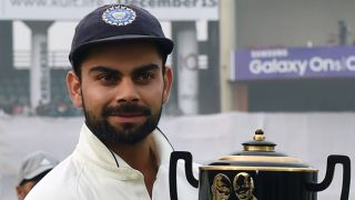Virat Kohli only 3 matches away in breaking Sunil Gavaskar's record of most consecutive Tests without defeat as captain