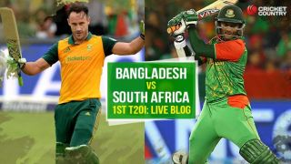 Live Cricket Score, Bangladesh vs South Africa, 1st T20I, BAN 96 in 18.5 Overs: SA win by 52 runs