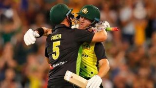 Aaron Finch, D'Arcy Short add world record stand