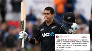 Ross Taylor's NZ $181 KFC gift voucher and other per-piece rewards