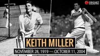 Keith Miller: 34 facts about the golden boy of Australian cricket