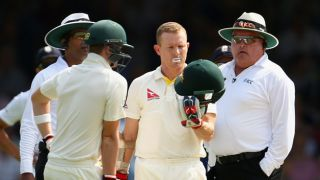 When Umpire Karl Wentzel called upon ICC to make wearing helmets a norm for his peers