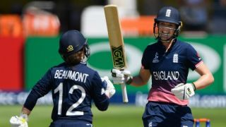 Womens T20I Tri-Series: Tammy Beaumont maiden ton powers England to record win over South Africa