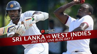 WI 20/1, target 244│ Live Cricket Score Sri Lanka vs West Indies 2015, 2nd Test at Colombo (PSS), Day 3: Play abandoned due to rain