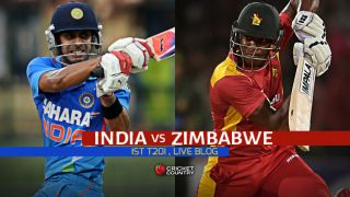 Live Cricket Score, India vs Zimbabwe 2015, 1st T20I at Harare ZIM 124/7 in 20 Overs: Visitors complete 54-run win
